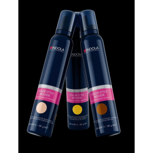 Indola Color Style Mousse 200ml Medium Blonde