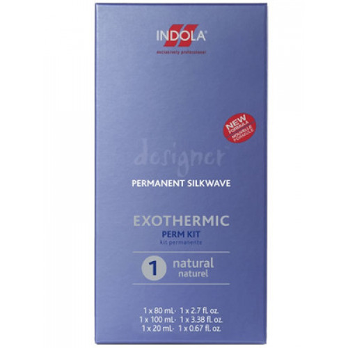 Indola Des. Silkwave Exothermic Kit 1 Natural