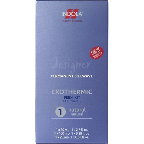Indola Des. Silkwave Exothermic Kit 2 Colour