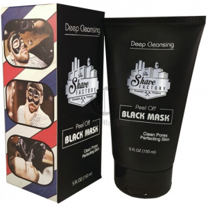 The Shave Factory Deep Cleansing Peel off black mask