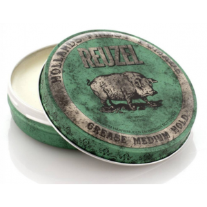 Reuzel Groen (Green Pig) Grease Medium Hold 113 gram