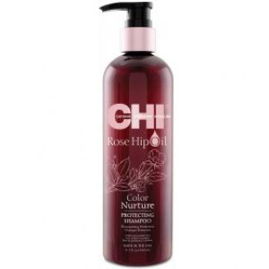 CHI Rose Hip Oil Shampoo 355ml