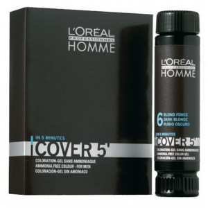 L'Oréal Homme Cover 6 Donkerblond 3x50ml