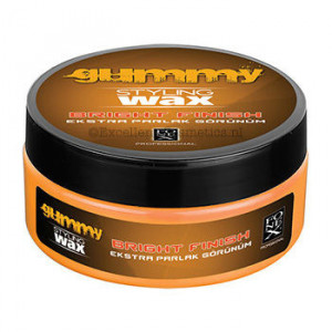 Gummy Styling Wax Bright Finish