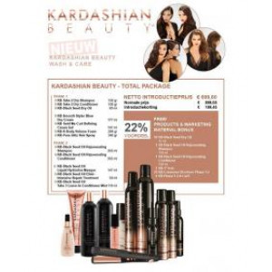 Kardashian Beauty FLAT Iron Salon Starter Kit