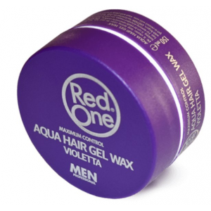Red One Aqua Hair Gel Wax Violetta 150 ml