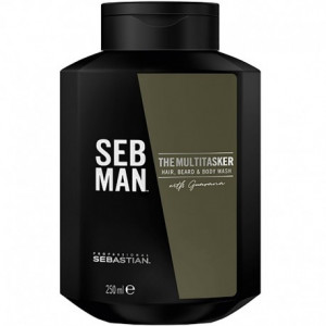 Sebastian SEB MAN The Multi-Tasker Hair Beard and Body Wash 250ml