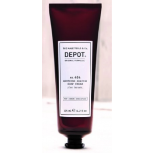 DEPOT No.404 SOOTHING SHAVING SOAP CREAM FOR BRUSH