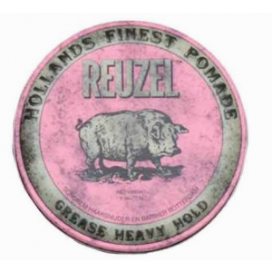 Reuzel Hf Pomade Grease Heavy Hold - Pink 35 gr