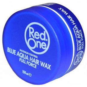 Red One Aqua Hair Wax Blauw 150ml