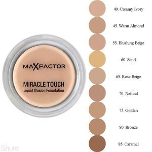 Max Factor Miracle Touch Foundation 11.5g Blushing Beige 055