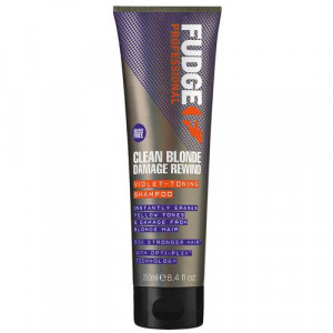 Fudge Clean Blonde Damage Rewind Violet Shampoo 250ml